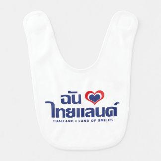 I Thailand ❤ thailändische Sprachskript des Babylätzchen