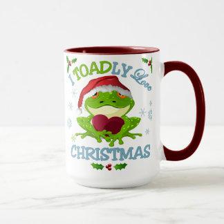 I Toadly Liebe-WeihnachtsTasse Tasse