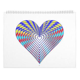 I trägt Herz Kalender 2017 ein