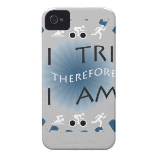 I Tri deshalb bin ich Triathlon iPhone 4 Case-Mate Hülle