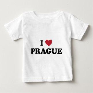 I Tschechische Republik Herz-Prags Baby T-shirt