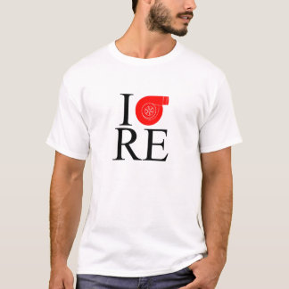 I TURBO BEZÜGLICH (DrehMotor) T-Shirt