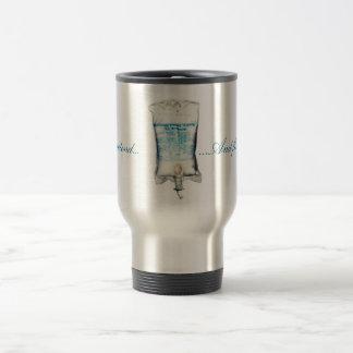 I.V. Koffein Reisebecher