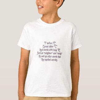 I vor e-Gedächtnis-Hilfen T-Shirt