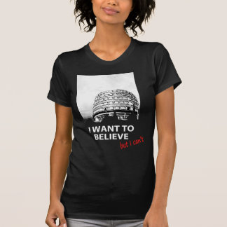 I want to believe - Gericht constit ,(but I can't) T-Shirt