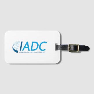 IADC Gepäckanhänger mit Visitenkarte-Schlitz