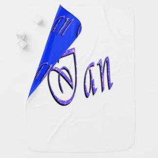 Ian, Name, Logo, umschaltbare Baby-Decke Kinderwagendecke