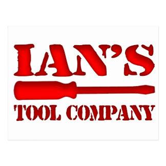 Ians Tool Company Postkarte