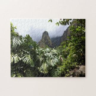Iao Nadel im Iao Tal-Staats-Park, Maui, Hawaii Puzzle