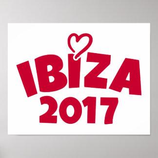 Ibiza 2017 poster