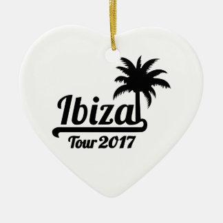 Ibiza Ausflug 2017 Keramik Ornament