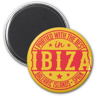 IBIZA Spanien Magnet Runder Magnet 5,1 Cm