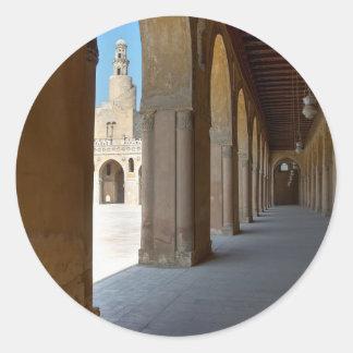 Ibn Tulun Moschee Kairo Runder Aufkleber