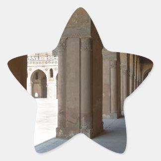 Ibn Tulun Moschee Kairo Stern-Aufkleber