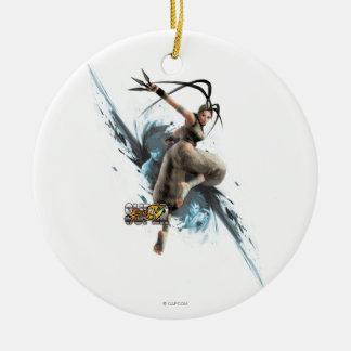 Ibuki Rundes Keramik Ornament