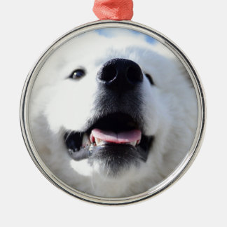 """Ice Bear"" 001 Silbernes Ornament"