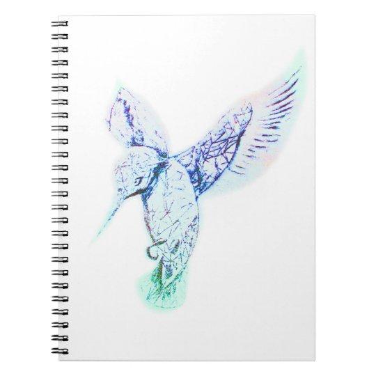 Ice-Bird on notebook Notizblock