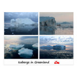 Icebergs in Greenland Post Card