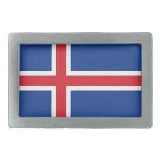 Iceland.ai Rechteckige Gürtelschnalle