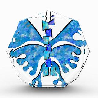 Icelonius - blauer Eisschmetterling Auszeichnung