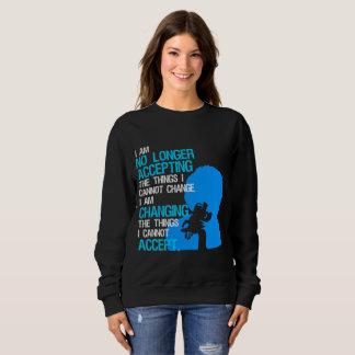 Ich ändere Sache-grundlegendes dunkles Sweatshirt