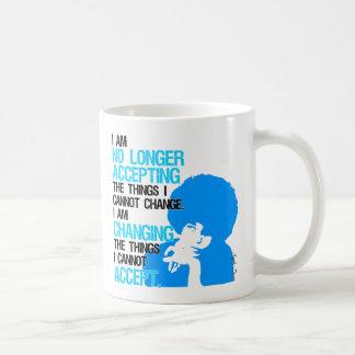 Ich ändere Sache-Klassiker-Tasse Kaffeetasse
