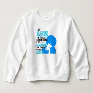 Ich ändere Sache-Kleinkind-Sweatshirt Sweatshirt