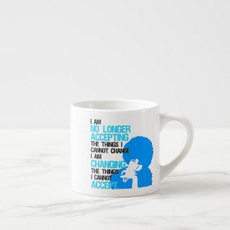 Ich ändere Sachenespresso-Tasse Espressotasse