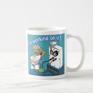 Ich arbeite an es 02 kaffeetasse
