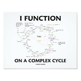 Ich arbeite auf einem komplexen Zyklus (Krebs 10,8 X 14 Cm Einladungskarte