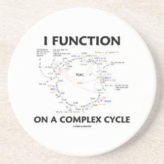Ich arbeite auf einem komplexen Zyklus (Krebs Sandstein Untersetzer