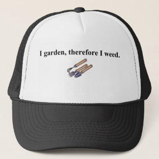 Ich arbeite deshalb im Garten Truckerkappe