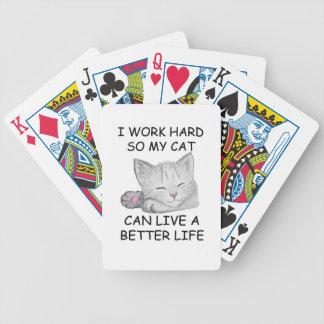Ich arbeite schwer bicycle spielkarten
