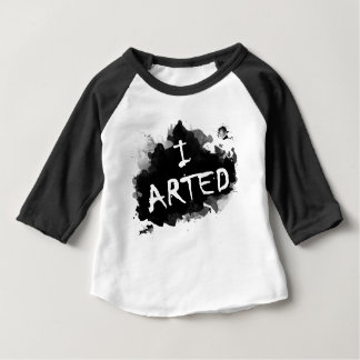 Ich arted baby t-shirt