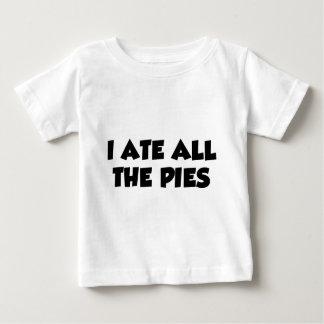 Ich aß alle Torten Baby T-shirt