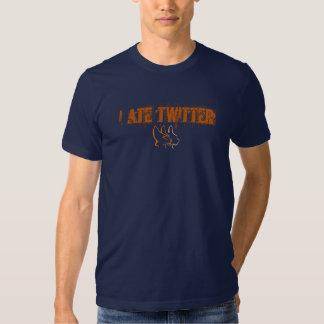 Ich aß Twitter Hemd