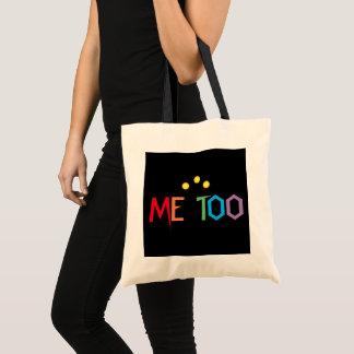 ICH AUCH im Regenbogen färbe Budget-Taschen-Tasche Tragetasche
