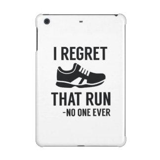Ich bedauere diesen Lauf