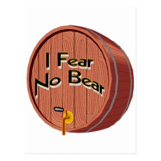 Ich befürchte kein Bier Postkarten