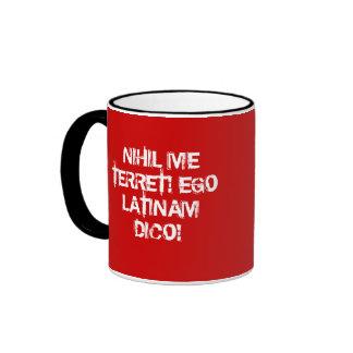 Ich befürchte nichts!  Ich spreche Latein! Teehaferl