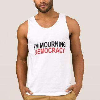 Ich beklage Demokratie Tank Top