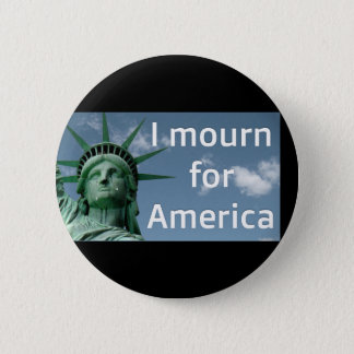 Ich beklage für Amerika-Knopf Runder Button 5,7 Cm