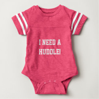 Ich benötige eine Wirrwarrfußball-Babyausstattung Baby Strampler
