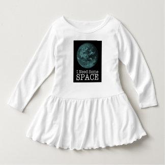 Ich benötige irgendein Raum-Kleinkind-Rüsche-Kleid Kleid
