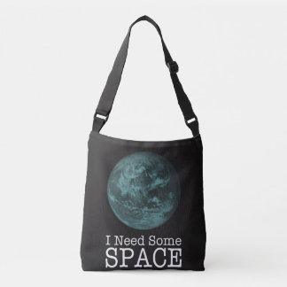 Ich benötige irgendeine Raum Crossbody Tasche