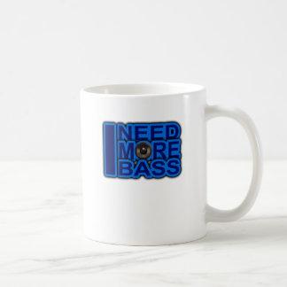 ICH BENÖTIGE MEHR blauen Dubstep-dnb-Bass-Verein-D Teetasse