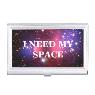 Ich benötige meinen Raum-Visitenkarte-Halter Visitenkarten-Schatulle