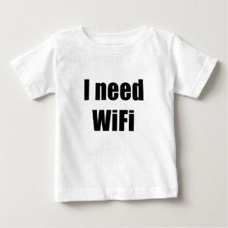 Ich benötige Wifi Baby T-shirt