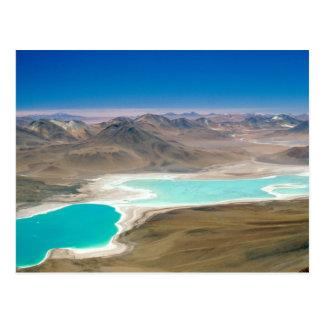 Ich besichtigte Laguna Verde in Bolivien! Postkarte