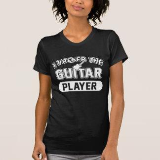 Ich bevorzuge den Gitarristen T-Shirt